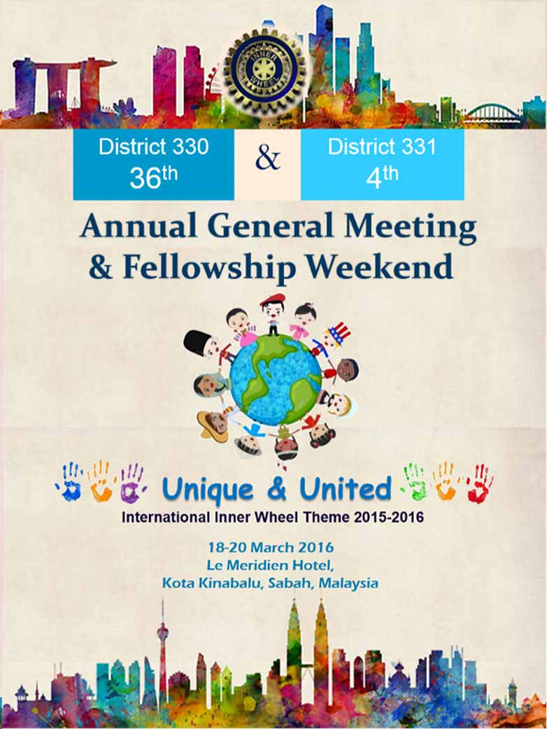 IW District 330 35th AGM & District 331 3rd AGM, 20-22 March2015