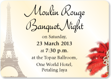 Friends of Inner Wheel are cordially invited to the Banquet Night on 24 March 2012. Please contact District Secretary Lee Lan Mee